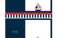 Free Nautical Party Printables From Ian  Lola Designs  Catch My Party within Nautical Banner Template
