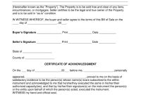 Free Notarized Bill Of Sale Form  Word  Pdf  Eforms – Free throughout Legal Bill Of Sale Template