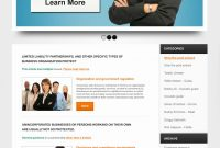 Free Online Business Psd Web Template – Free Psd Web Templates inside Professional Website Templates For Business