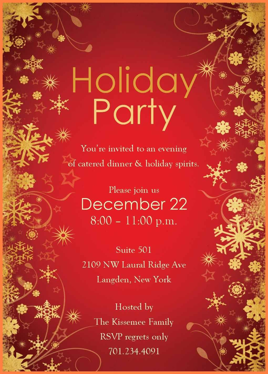 Free Party Templates For Word  Andrew Gunsberg Within Free Dinner Invitation Templates For Word