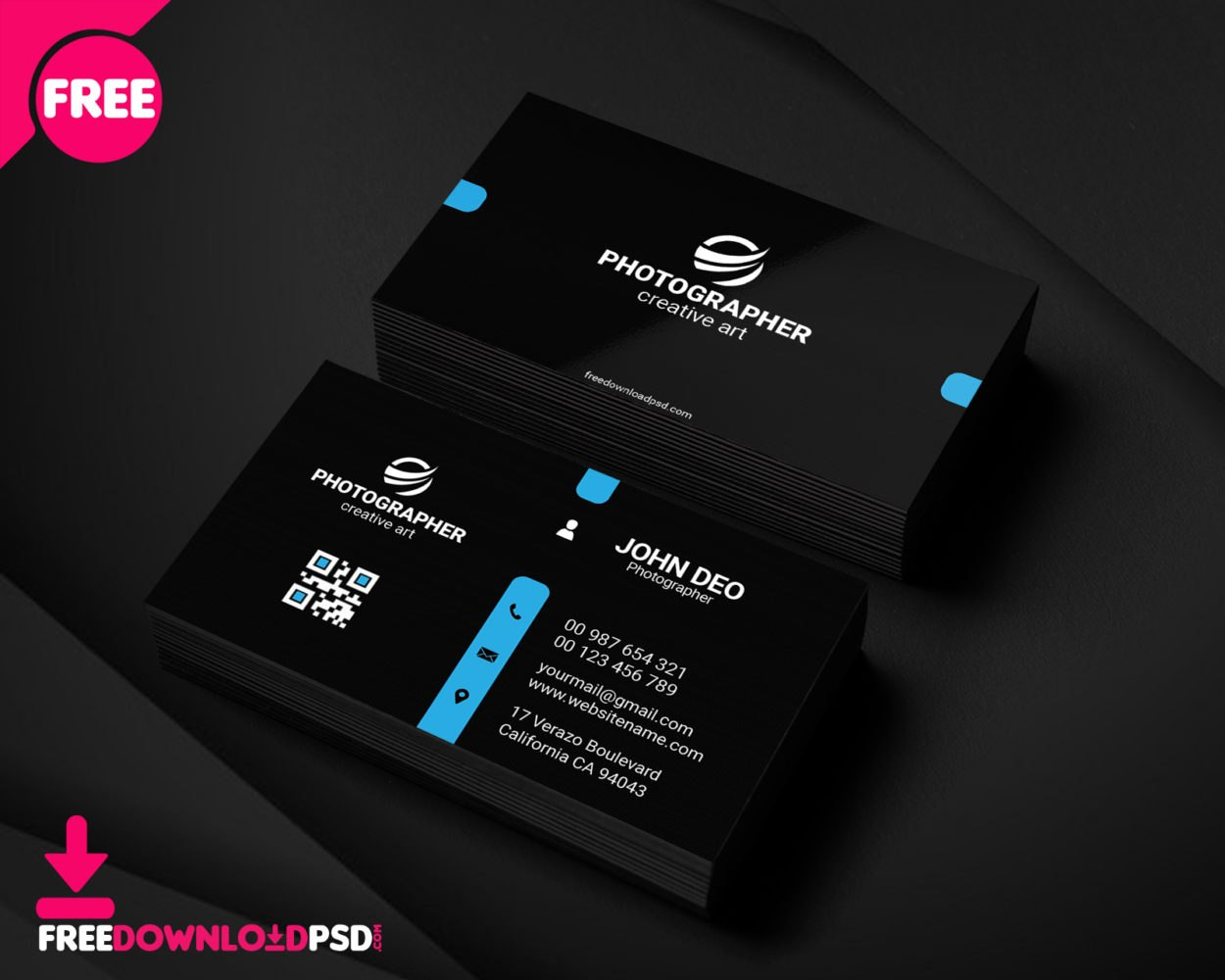Free Personal Business Card Template  Freedownloadpsd Pertaining To Free Personal Business Card Templates