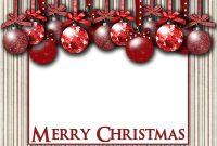 Free Photo Christmas Card Templates  Template Business for Free Holiday Photo Card Templates