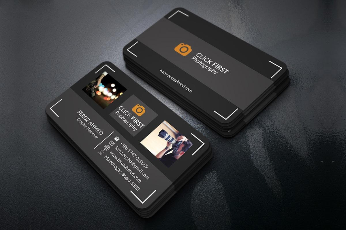 Free Photography Business Card Template  Creativetacos Intended For Free Business Card Templates For Photographers