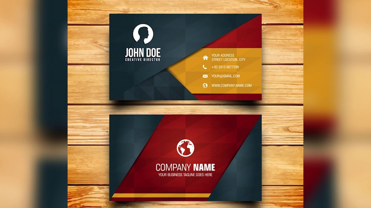 Free Photoshop Business Card Template Maxresdefault Sensational For Photoshop Cs6 Business Card Template