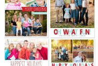 Free Photoshop Holiday Card Templates From Mom And Camera  Flourish pertaining to Christmas Photo Card Templates Photoshop