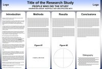 Free Powerpoint Scientific Research Poster Templates For Printing with regard to Powerpoint Poster Template A0