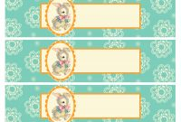 Free Printable Baby Shower Templates throughout Free Water Bottle Labels For Baby Shower Template