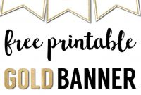 Free Printable Banner Letters Templates  The Wedding Stuff  Free in Free Letter Templates For Banners