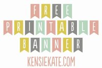 Free Printable Banner Template Welcome Home Of Freebie Friday within Welcome Banner Template