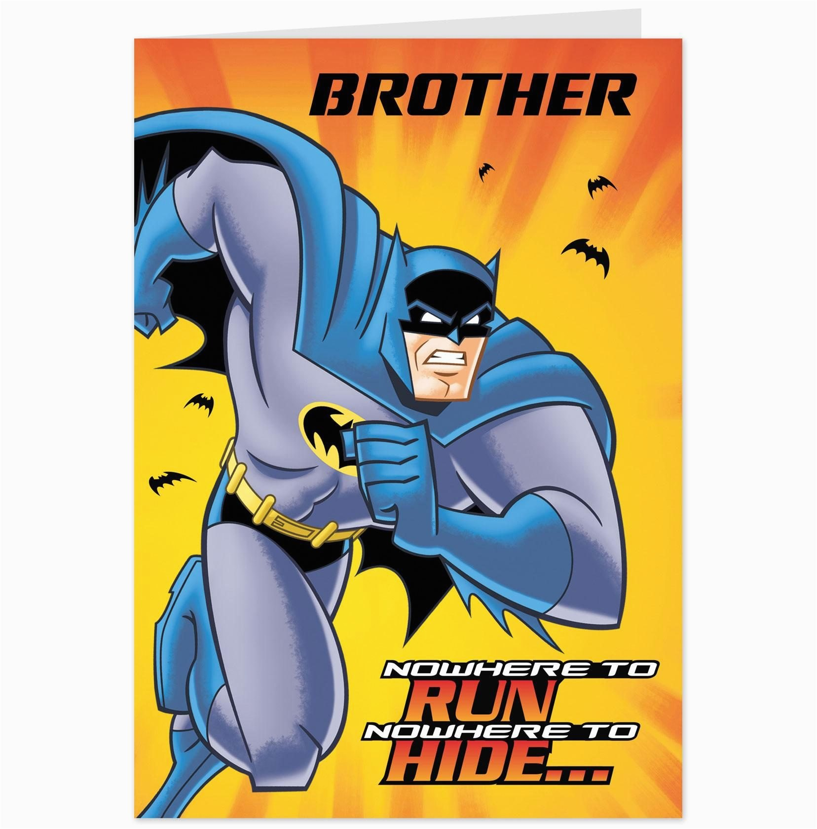 Free Printable Batman Birthday Cards Template Batman Birthday Cards Throughout Batman Birthday Card Template