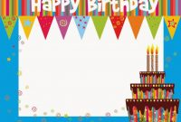 Free Printable Birthday Cards Ideas – Greeting Card Template  Happy inside Greeting Card Layout Templates