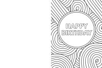 Free Printable Birthday Cards  Paper Trail Design within Foldable Birthday Card Template