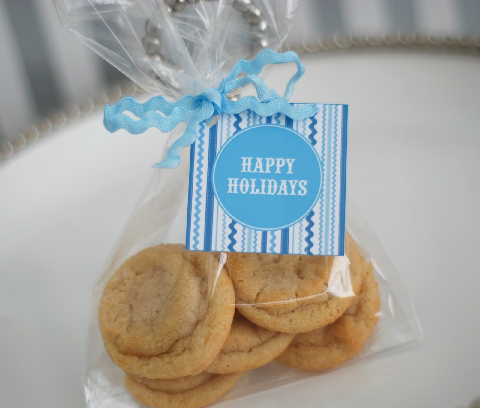 Free Printable Blue And White Holiday Cookie Exchange Recipe Cards For Cookie Exchange Recipe Card Template