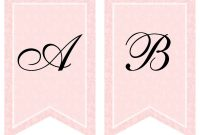 Free Printable Bridal Shower Banner  Vow Renewal  Bridal Shower pertaining to Bridal Shower Banner Template