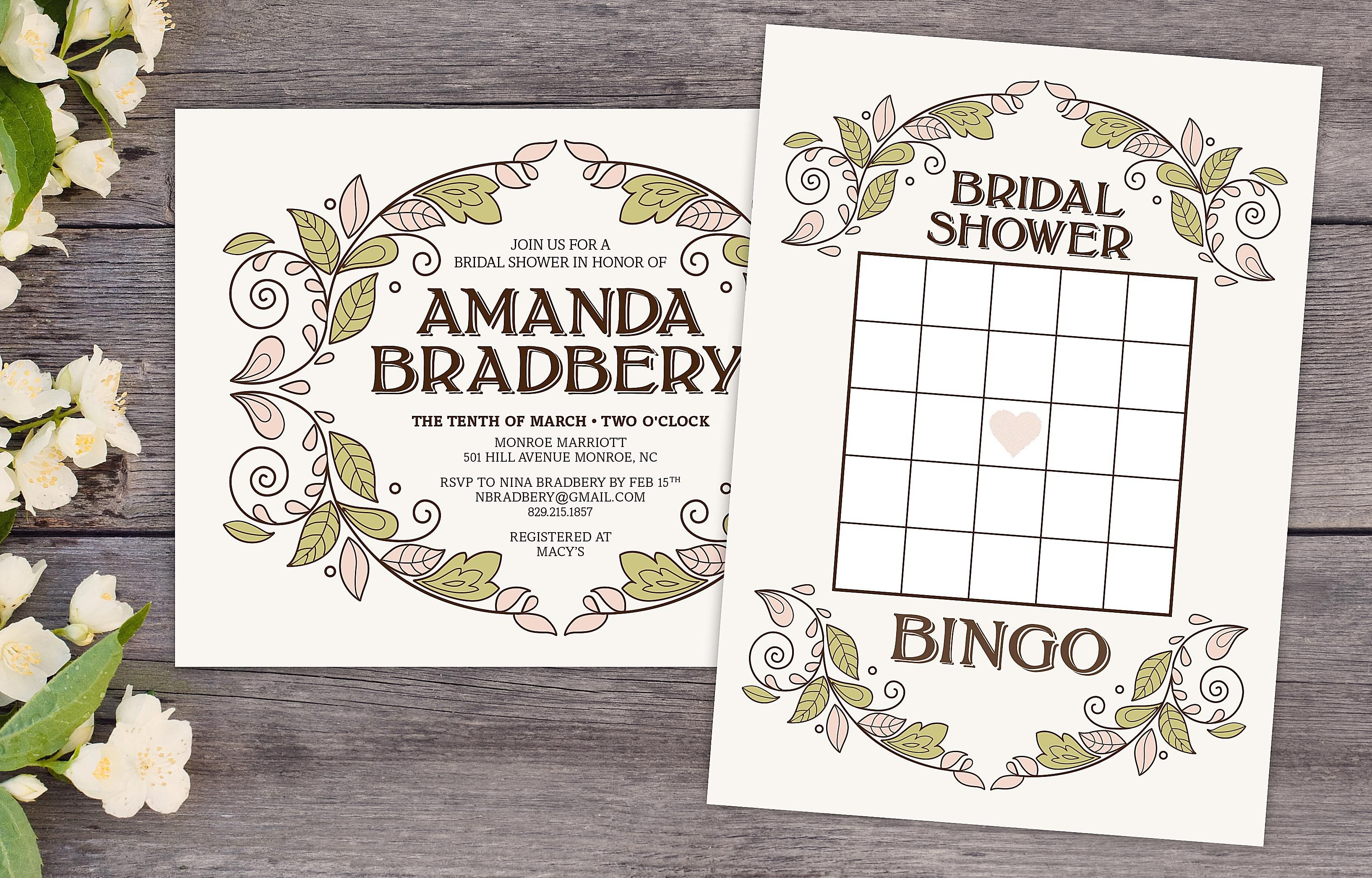 Free Printable Bridal Showers Bingo Cards With Regard To Free Bridal Shower Banner Template