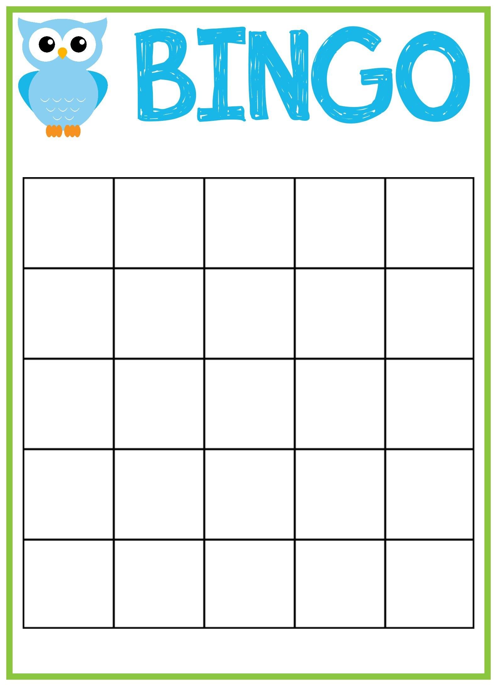 Free Printable Cards Word Blank Bingo Awesome Card Templates Regarding Bingo Card Template Word