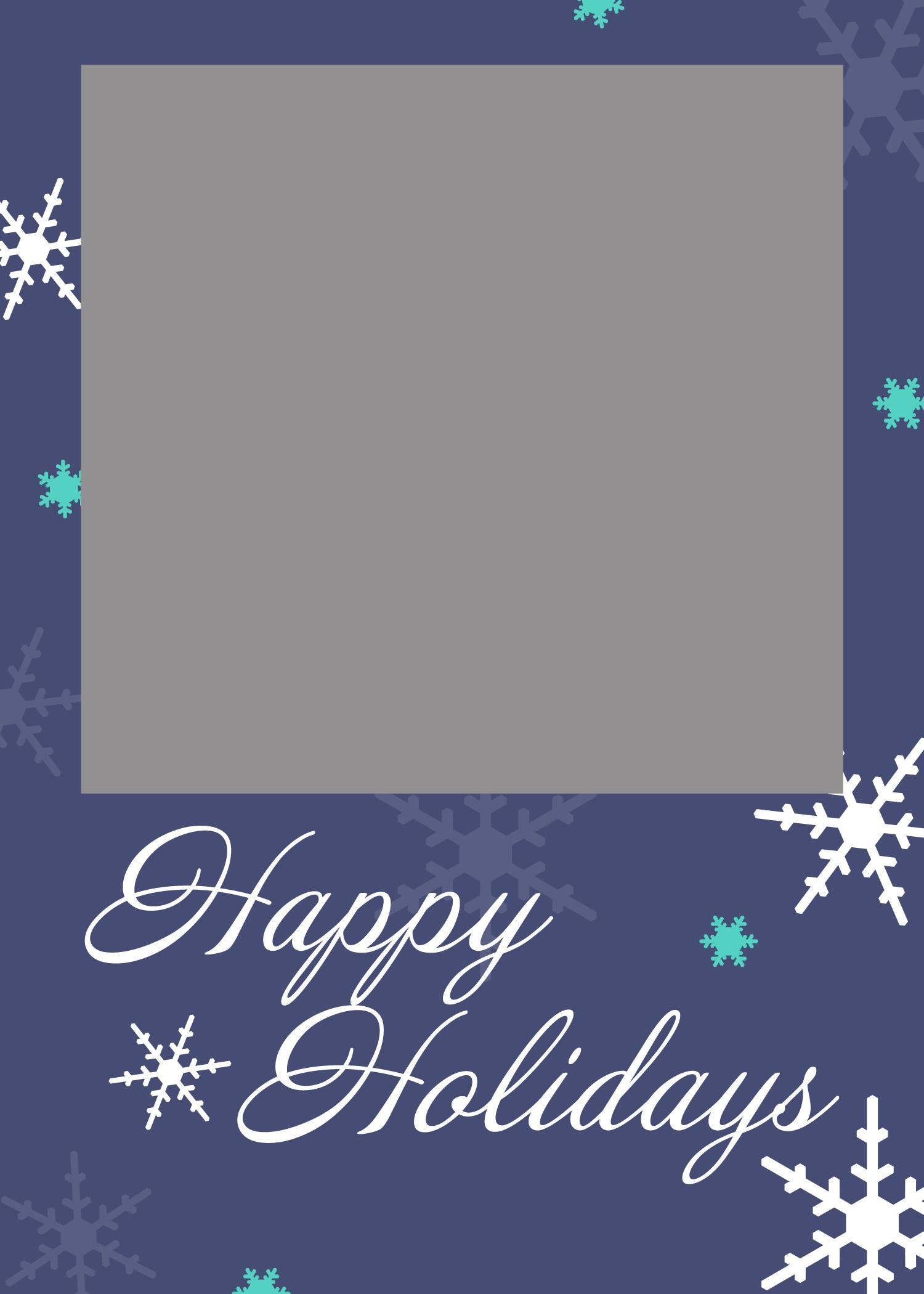 Free Printable Christmas Card Templates Images  Free Printable In Free Holiday Photo Card Templates