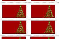 Free Printable Christmas Labels With Trees for Xmas Labels Templates Free