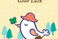 Free Printable Goodbye And Good Luck Greeting Card  Littlestar in Good Luck Card Templates