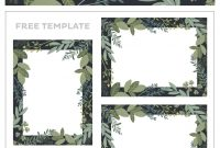 Free Printable Holiday Hosting Place Cards  Craft Ideas with regard to Table Name Cards Template Free