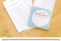 Free Printable Library Cards  Printables  The Best Downloads in Free Templates For Cards Print