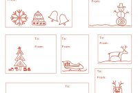 Free Printable Madejoel » Holiday Gift Tag Templates with regard to Xmas Labels Templates Free