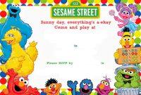 Free Printable Sesame Street Birthday  Free Printable Birthday for Elmo Birthday Card Template