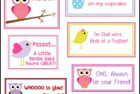 Free Printable Valentine's Cards A Lot Of Them  Diyowl Printabes throughout Valentine Card Template For Kids
