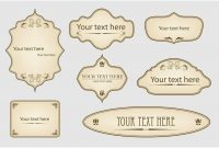 Free Printable Vintage Label Templates  Writings And Essays Corner with Free Printable Vintage Label Templates
