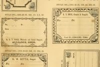 Free Printable Vintage Pharmacy  Apothecary Labels  The in Free Printable Vintage Label Templates