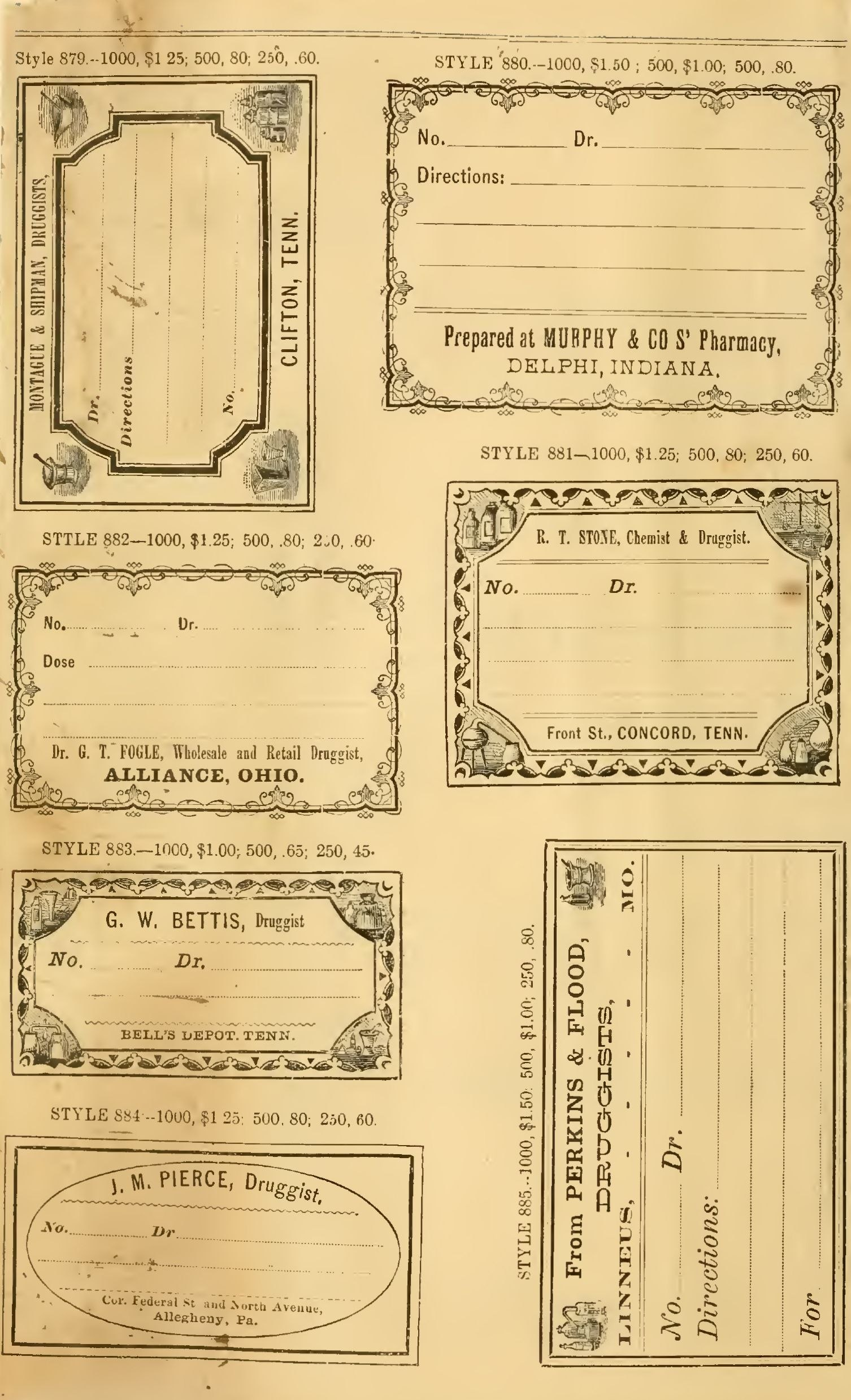 Free Printable Vintage Pharmacy  Apothecary Labels  The In Free Printable Vintage Label Templates