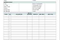 Free Proforma Invoice Template  Download inside Template Of Proforma Invoice