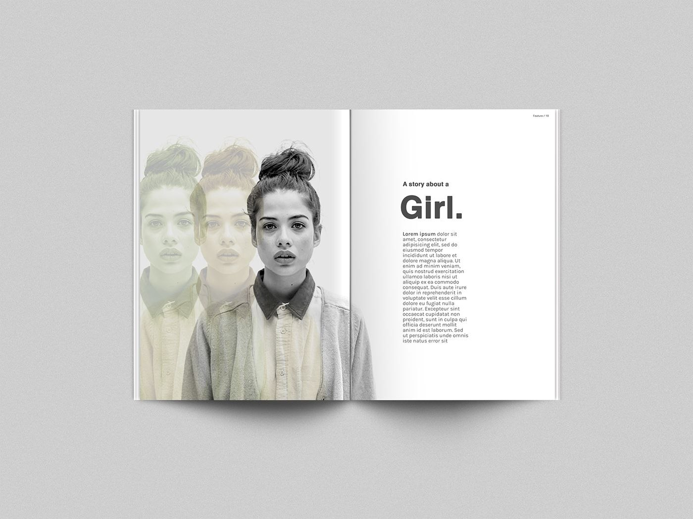 Free Psd Mock Up Template For Your Magazine Concepts This Is An Regarding Blank Magazine Template Psd