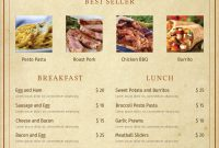 Free Publisher Menu Templates Best Brochure Templates Free  Best Of regarding Menu Templates For Publisher