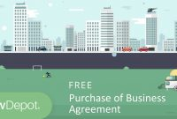Free Purchase Of Business Agreement  Create Download And Print inside Free Business Transfer Agreement Template