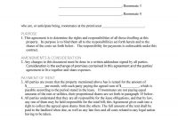 Free Roommate Agreement Templates  Forms Word Pdf with regard to House And Flat Share Agreement Contract Template