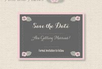 Free Save The Date Templates in Save The Date Powerpoint Template