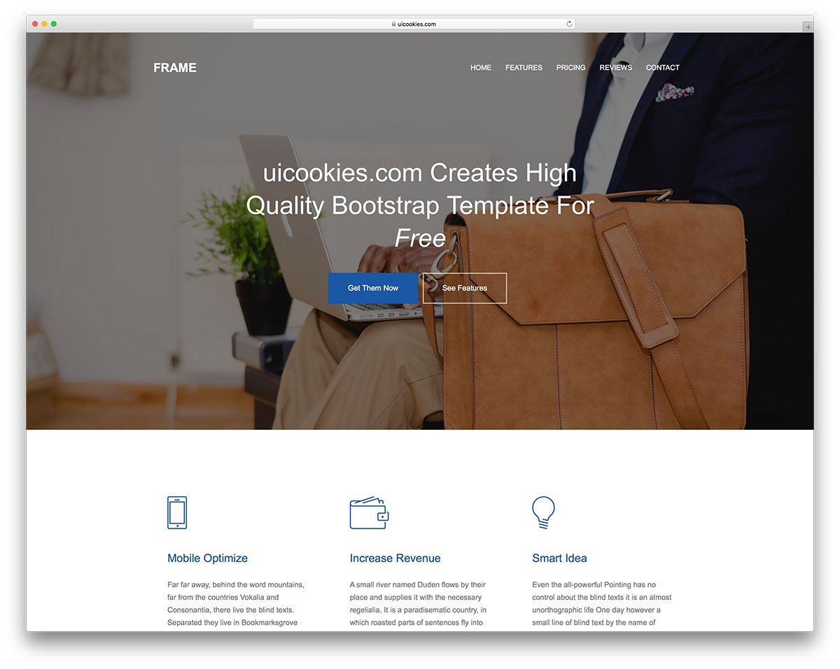 Free Simple Website Templates For Clean Sites Using Html  Css In Basic Business Website Template