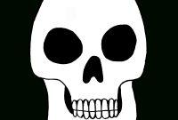 Free Skull Printable  Julie Erin Designs throughout Blank Sugar Skull Template