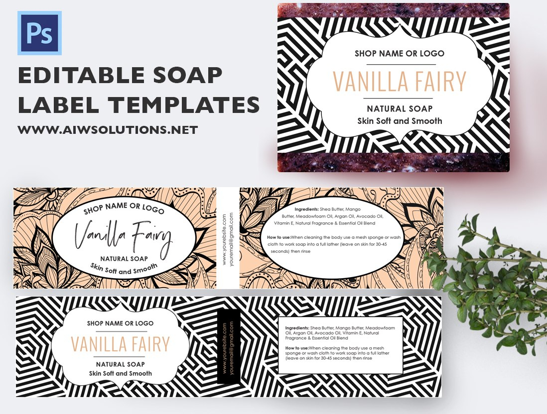 Free Soap Label Templates Template Top Ideas Handmade Vintage Within Free Printable Soap Label Templates