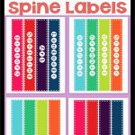 Binder Label Template