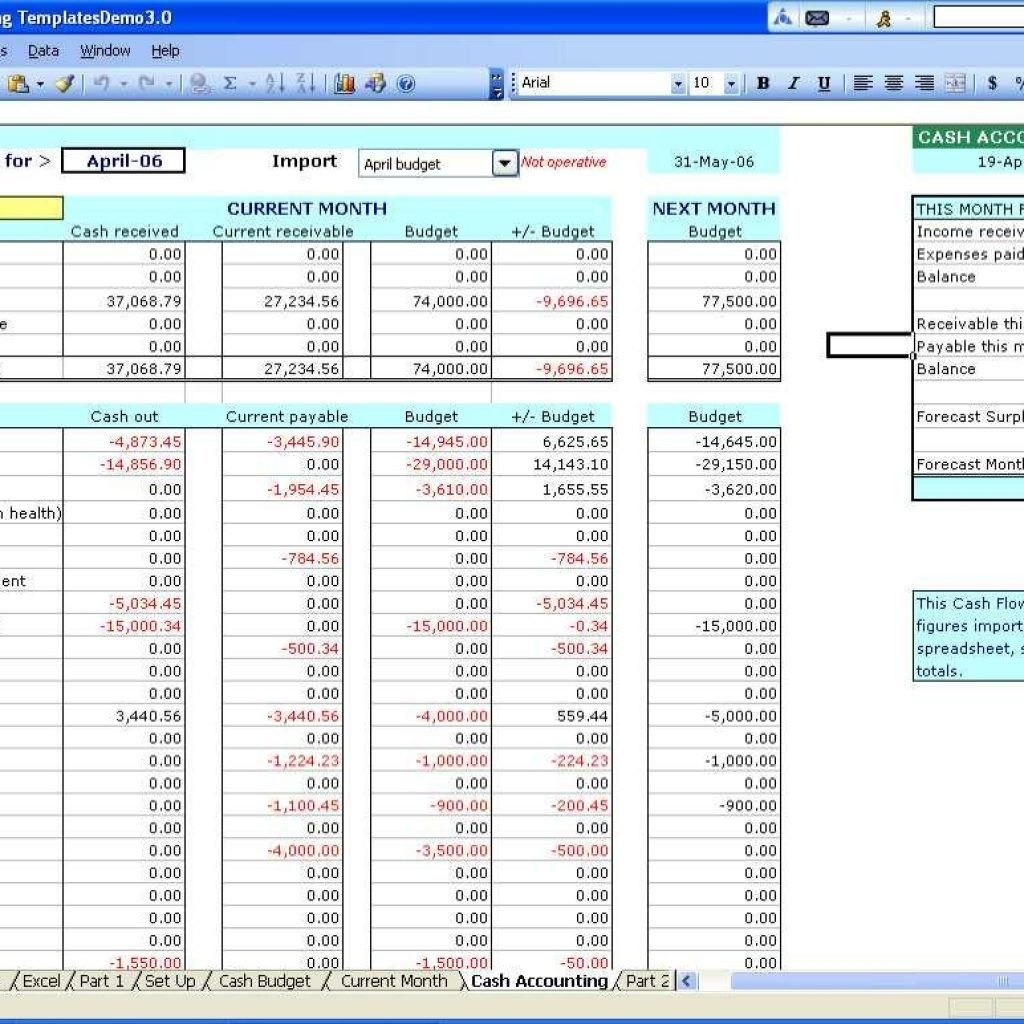 Free Spreadsheet Templates  Account Spreadsheet Templates For Small With Regard To Business Accounts Excel Template
