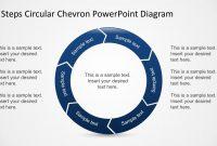 Free  Steps Circular Chevron Powerpoint Diagram throughout Powerpoint Chevron Template