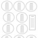 Free Table Seating Chart Template  Seating Charts In   Table with Wedding Seating Chart Template Word