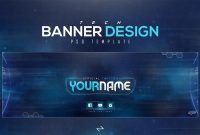 Free Tech Twitter Header Psd Template Free To Use  Lastzak for Twitter Banner Template Psd