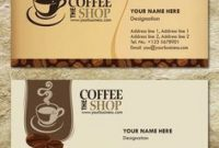 Free Templates Business Card For Coffee Shop  Google regarding Coffee Business Card Template Free