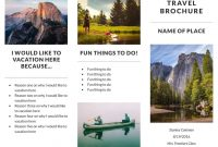 Free Travel Brochure Templates  Examples  Free Templates within Travel Brochure Template For Students