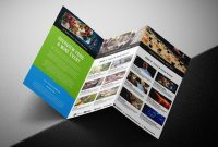 Free Trifold Brochure Template For Events  Festivals  Psd Ai with Wine Brochure Template