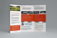 Free Trifold Brochure Template In Psd Ai  Vector  Brandpacks for Tri Fold Brochure Ai Template