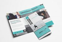 Free Trifold Brochure Templates In Psd  Vector  Brandpacks for Tri Fold Brochure Ai Template